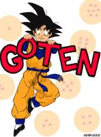 Son Goten by peeping-doom