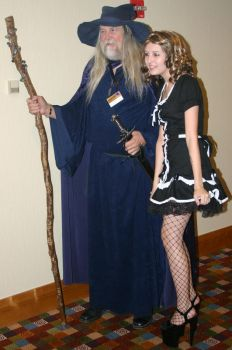 DC2007: Gandalf and Maid by KirganL