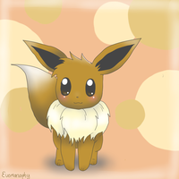 Chibi Eevee by Evomanaphy