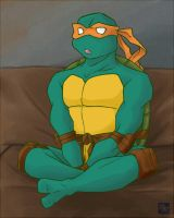 Michelangelo by mukuto