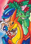 The Original Mega Three by Aurora-Chiaro