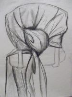 Fabric on chair gesture by DasherDoodle