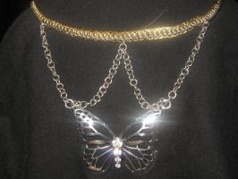 Butterfly Necklace by Flukarion