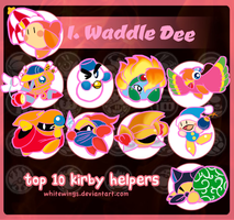 My top 10 Helpers by takeashley