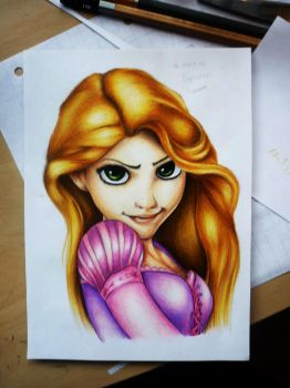 Rapunzel - Tangled by Polaara