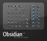 Obsidian Cursor set by teft