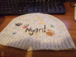 Nyan Cat Hat 1 by Ayleia-The-Kitty