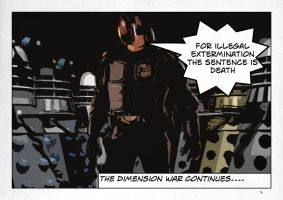 The Dimension War....Daleks Judgement Day by Oneideatoday