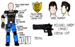 V.C.P.D. Rage Cosplay Blueprint by StealthNinja5