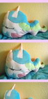 Celestia Bust Pillow by haselwoelfchen