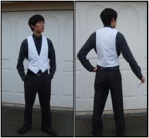 My First Sewn Waist Coat by chioky