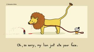 Lion Ate Your Face by sebreg