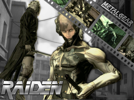 Raiden +Guns of the Patriots+ by GreenFarore