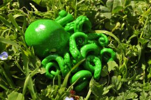 Green Octopus by Zombie-Mae