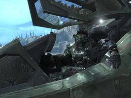 halo reach: pilot leisure by purpledragon104