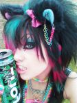 The Raver by bloodstainnightmare