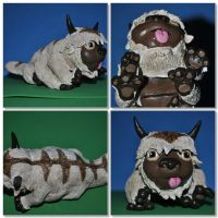Appa Sculpture by FlyingSpiderGirl