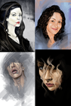 Portrait Compilation by mehchall