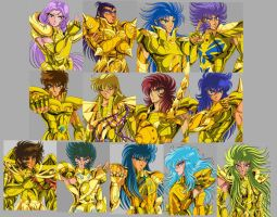13 Gold Saints by Juni-Anker