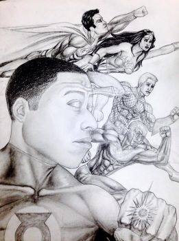 Super hero Portrait by BriceWhiteside