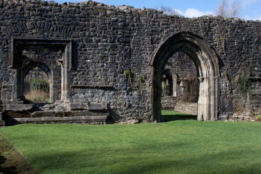 Whalley abbey - Ruins shots 2 by DesignEnigma