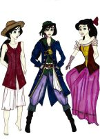POTC TLM Musical Costumes 2 M by Selinelle