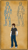 Male teenager anatomy by Master-sweez