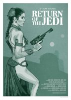 Return of the Jedi Poster by oldredjalopy
