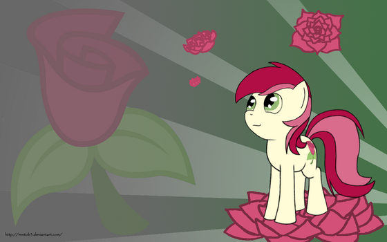 Roseluck Wallpaper by mmtOB3