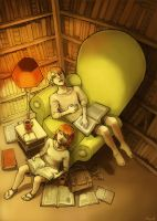 Library by Yonetee