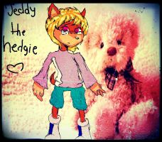 Teddy the hedgie by Puppet-Strings-s