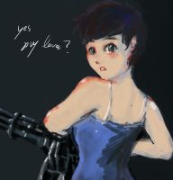 Curie yes. my love? by odinmask