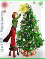 Oh Christmas Tree- Dec 20 2004 by thewavertree