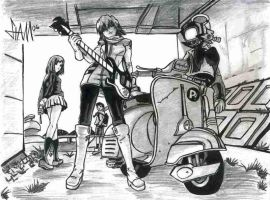 FLCL by Stamie