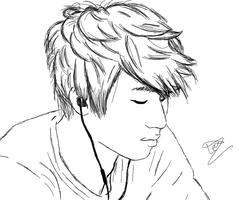 Kang Daesung by LexMimieux