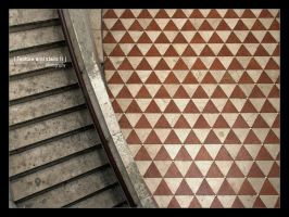 Texture and stairs II by bupo