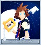 Sora Kingdom Hearts Sky by diana-usumaki