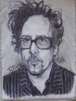 Tim Burton by Sallysammy