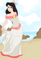 Princess Melody By The Sea by Astirea