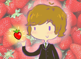 John's ability to summon strawberries!? by green-hippie44