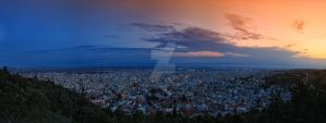 Serres Greece Panorama by GiannisParaschou