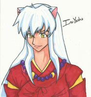 InuYasha Colored by SuperGirlJCT