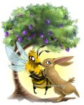 Bee and Bunny by sobeyondthis