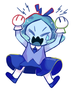 Angry Aquamarine by Cafhune