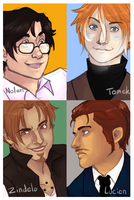 1912 :: Dudes and Bros by RyuichiFoxe