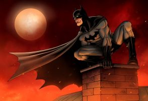 Batman: Gotham Burning by TPollockJR