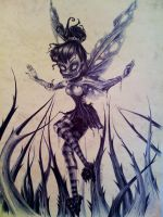 Zombie Tinkerbell by ripley23