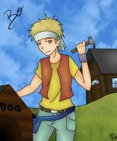Harvest Moon: Bo by KayMarie94