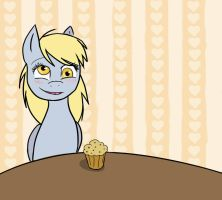 Derpy and The Muffin by Drizzle84