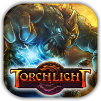 Torchlight Game Icon 3 by Wolfangraul